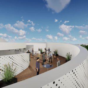 Silberschlag-Astronomisches-Zentrum-Dachterrasse