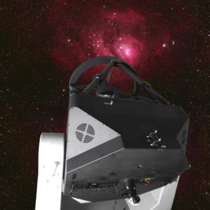 1m-Teleskop Lagunennebel