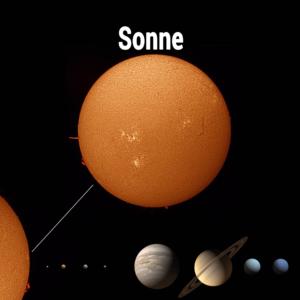 Sonne-im-Sonnensystem
